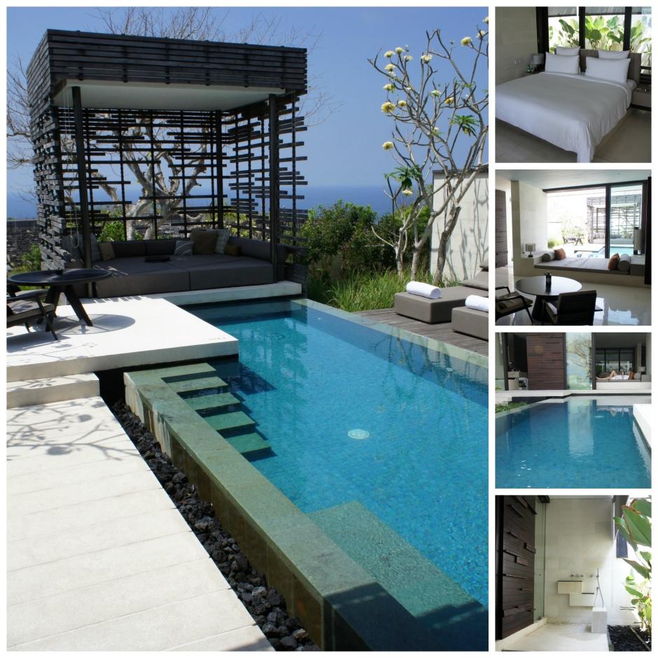 room and pool