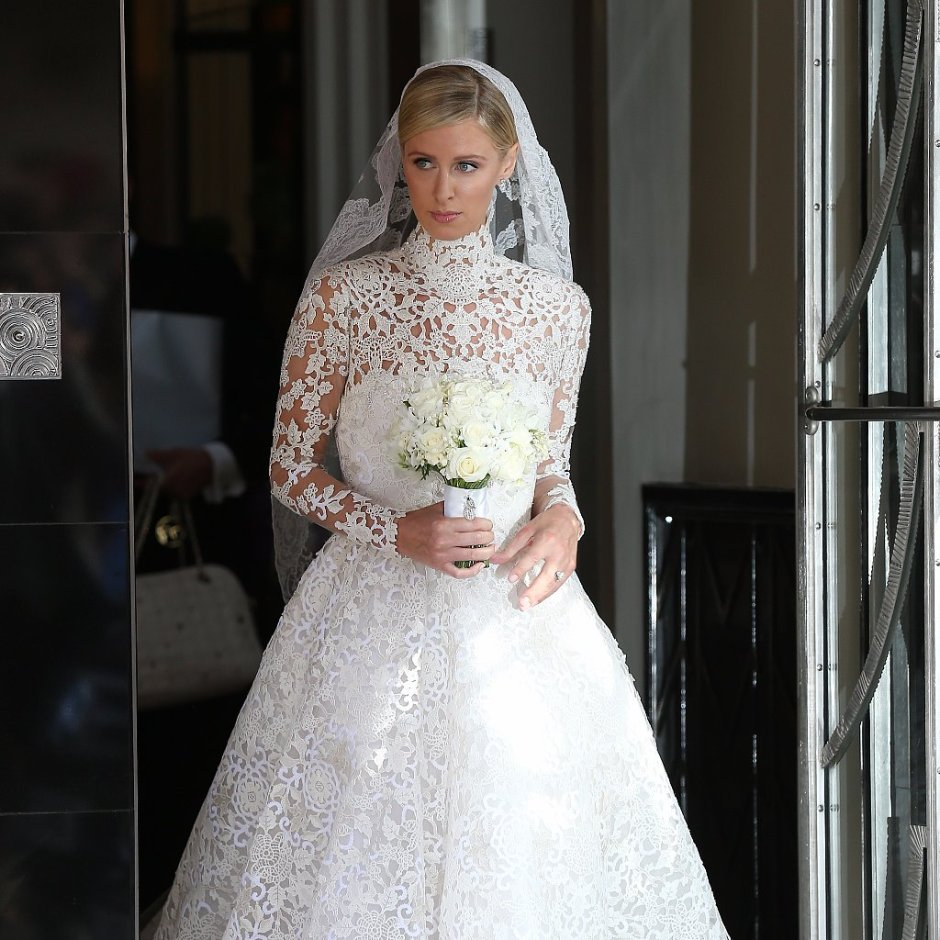 Nicky Hilton in Valentino Source: PopSugar