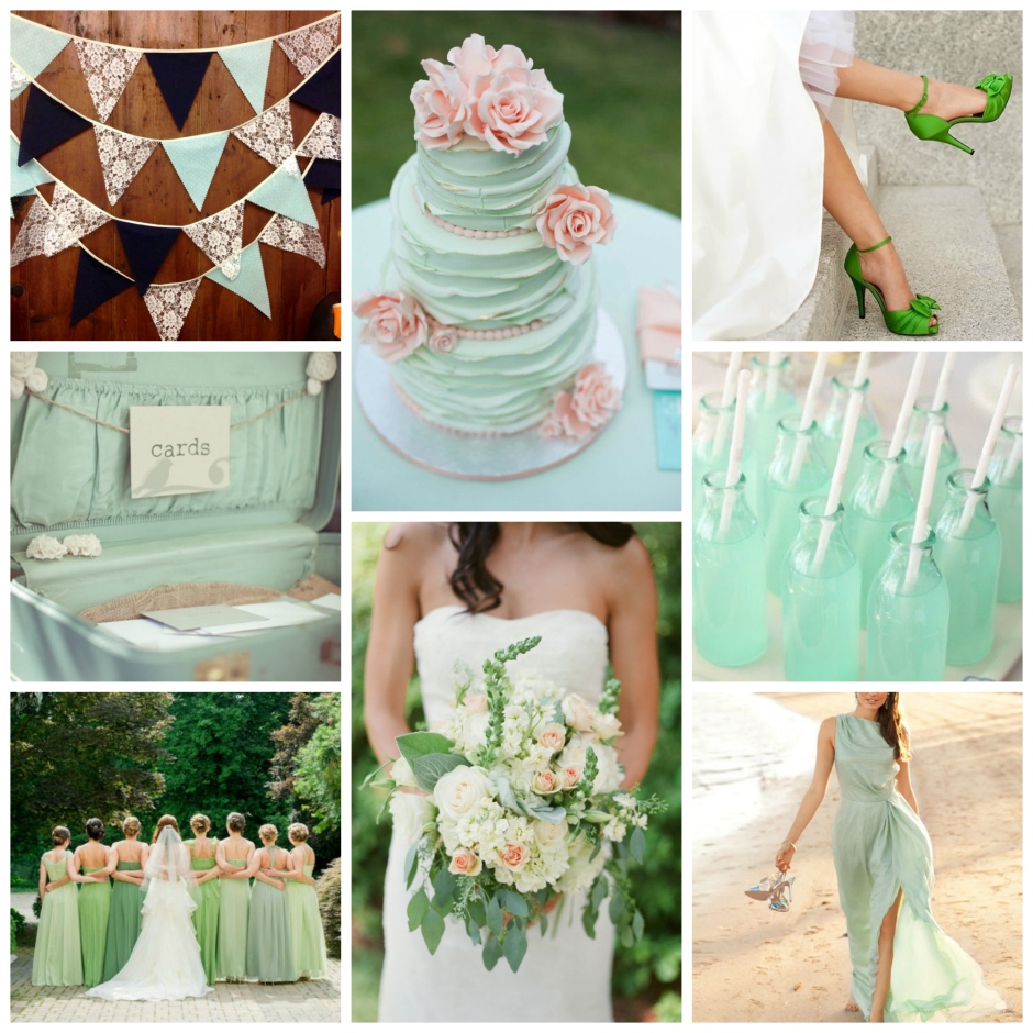 Spring/Summer Green Wedding Inspiration