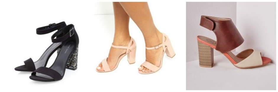 Cheap Block heels for weddings