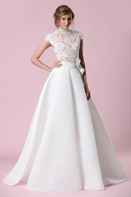 Gemy Maalouf  full skirt wedding dress