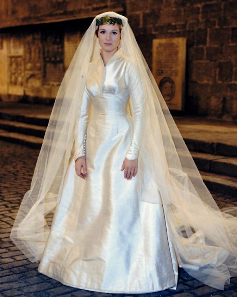 Sound of music wedding dress