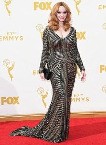Christina Hendricks Emmy Awards