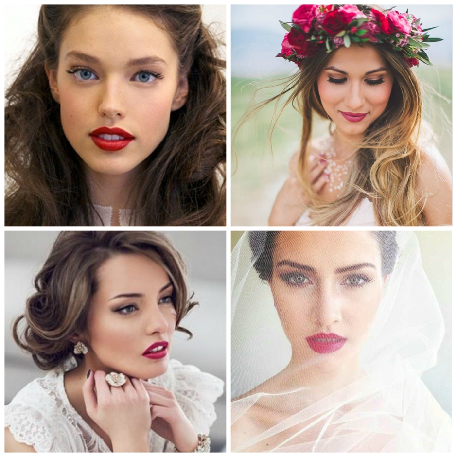Brides with Red Lips