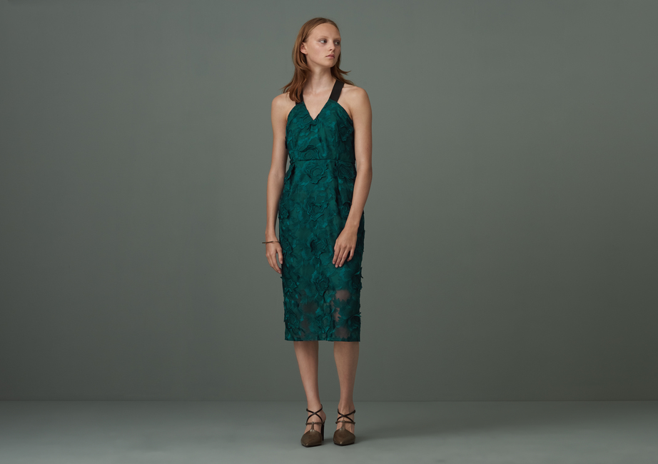 Colton Cross Back Lace Dress by Finery London |£129