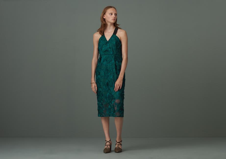Colton Cross Back Lace Dress by Finery London |£129