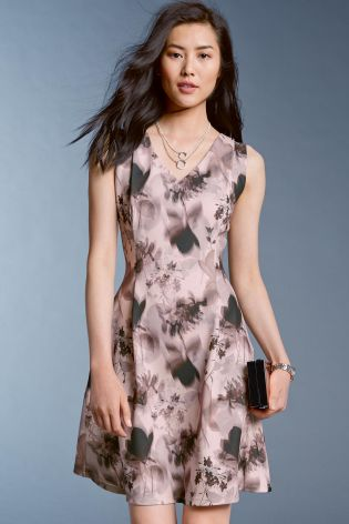 Fit & Flared Dress by Next  £32