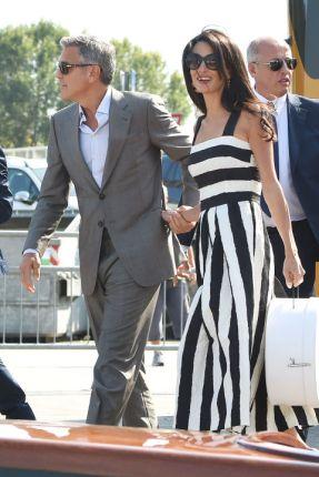 George Clooney & Amal pre wedding