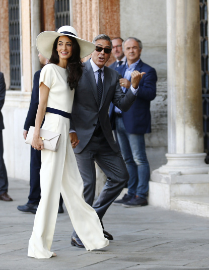 Amal Stella McCartney wedding outfit