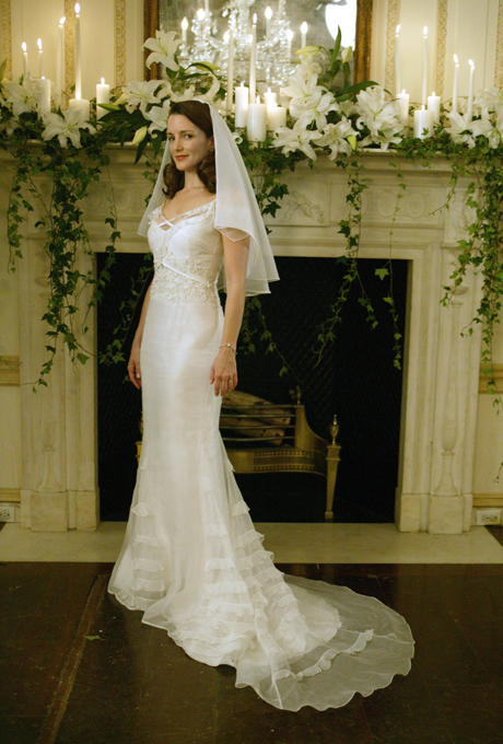 Charlotte's Wedding Dress | Sex and the City | Source: Brides.com