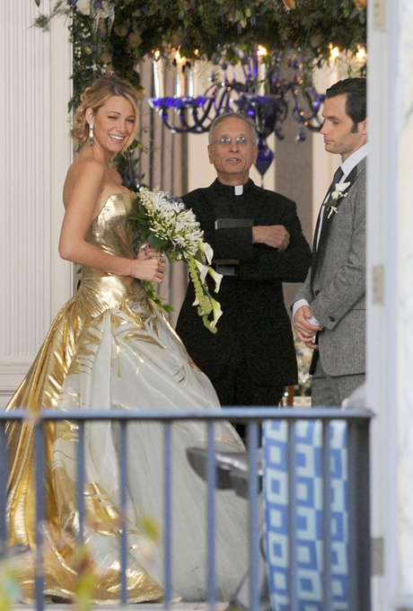 Serena's Wedding Dress | Gossip Girl | Source: Pinterest