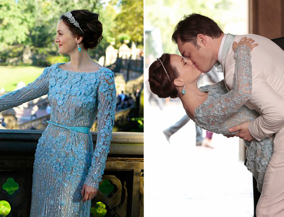 Blair's Wedding Dress | Gossip Girl | Source: Style.MTV.com