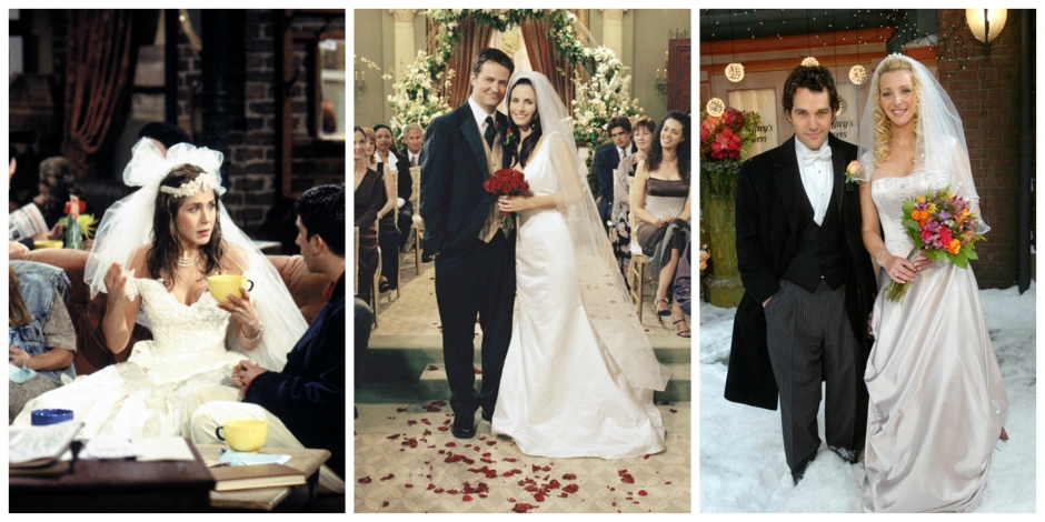 The Wedding Dresses from Friends: Source: All images Brides.com