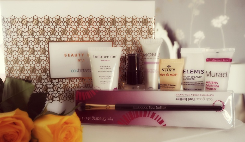 Look Fantastic Beauty Box inside the Cosmo Blog Awards Goody Bag
