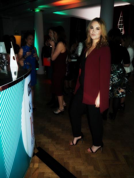 ASOS Cape/ waist coat, Jumpsuit, black, outfit, cosmo blog awards