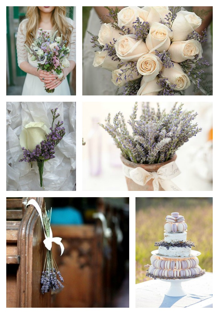 Summer wedding flowers lavender bouquets and table displays centrepieces wildflowers