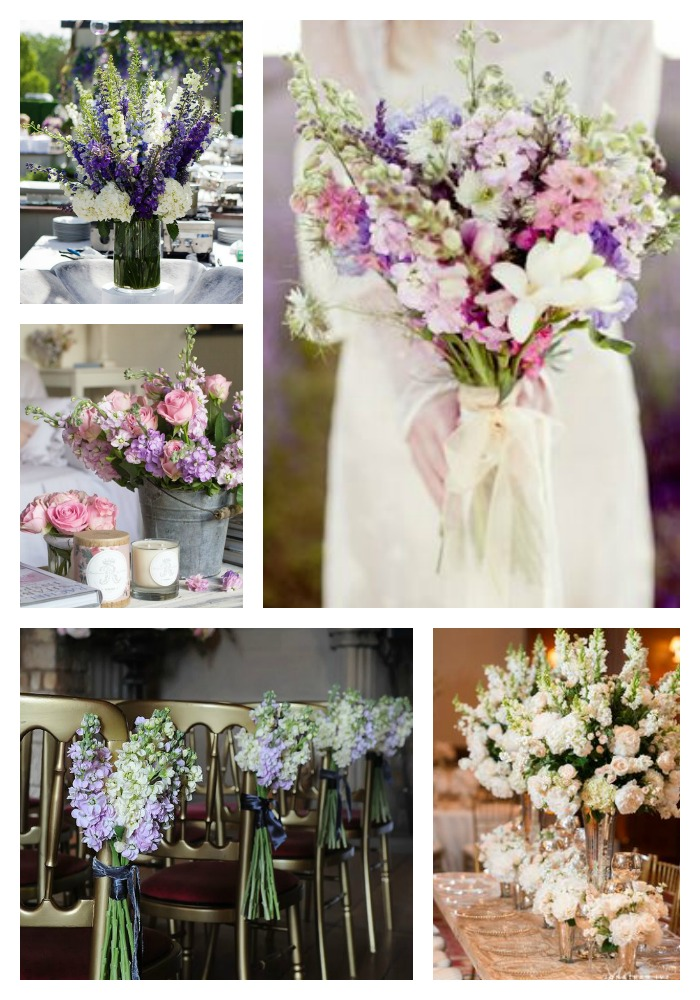 Summer wedding flowers and centrepieces stocks