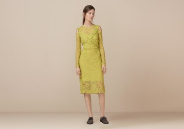 Finery London | Ampfield Lace Frill Detail Dress |£69