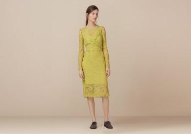 Finery London   Ampfield Lace Frill Detail Dress  £69