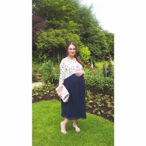 Maya Maternity wedding guest outfit