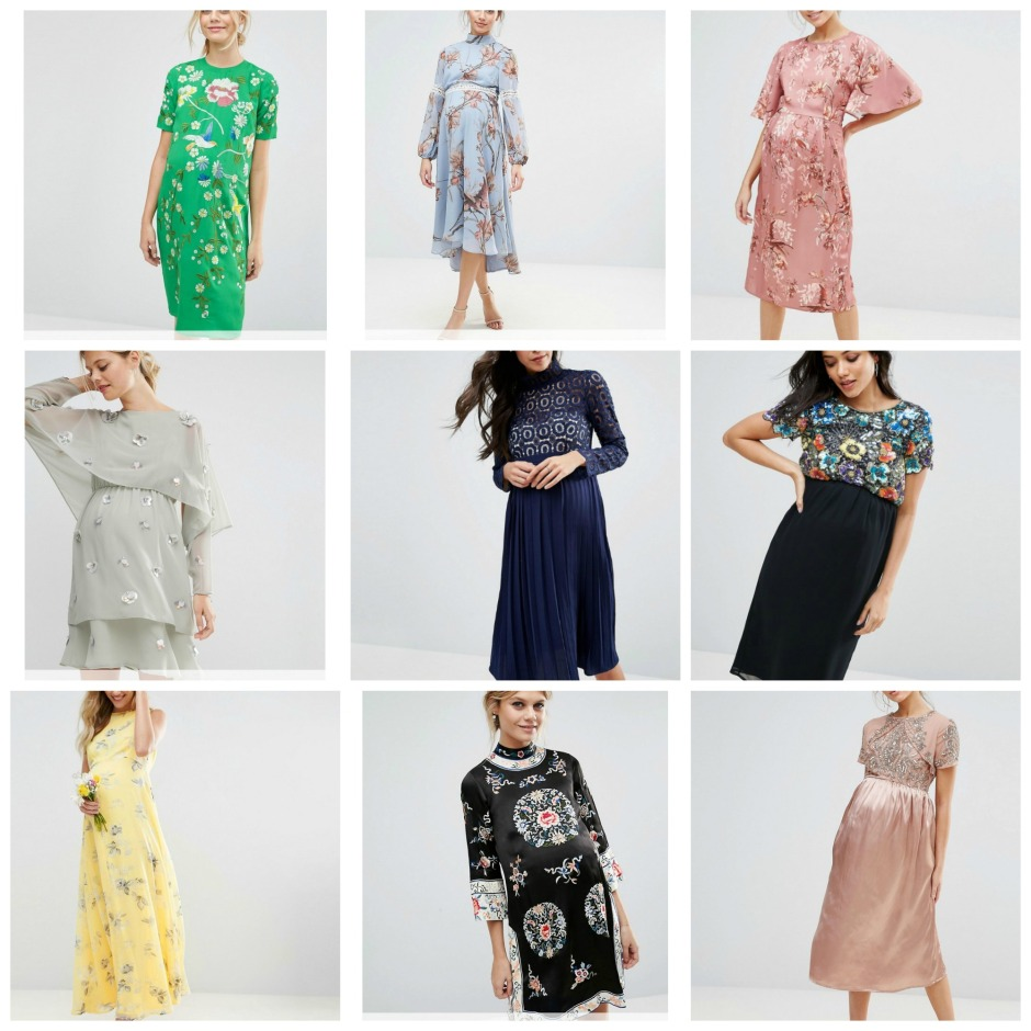 Maternity fashion special occasion dresses