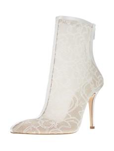 Oscar de la Renta bridal boots