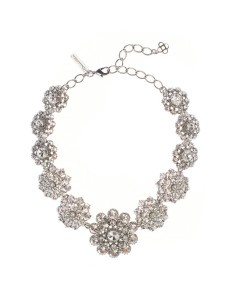 Oscar de la Renta bridal necklace
