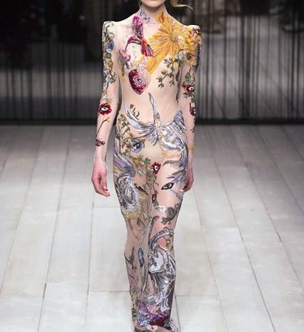 Bridal fashion autumn winter trends