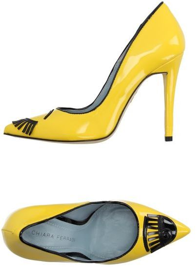CHIARA FERRAGNI COURT YELLOW