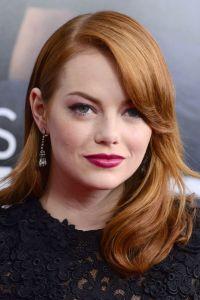 Emma Stone Beauty Moments 40's vibe