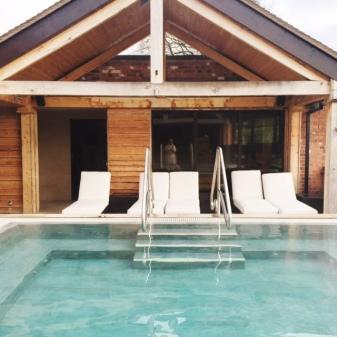 Sauna at Moddershall Oaks