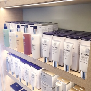 Elemis products at spa