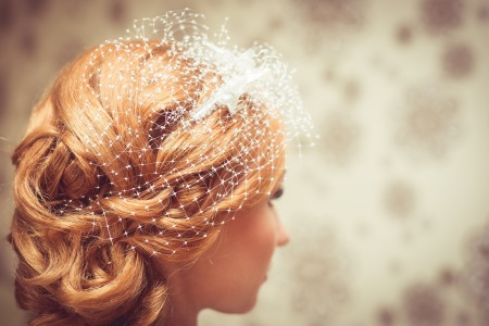 Bridal wedding hair