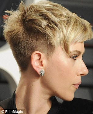 Scarlett Johansson Short Haircut Whisper And Blush