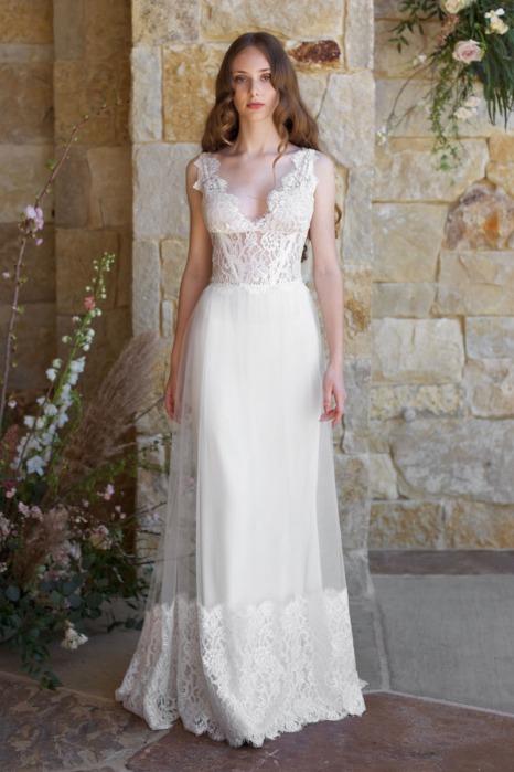 Claire Pettibone Romantique 2018 Wedding Dress