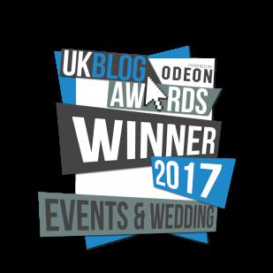 UK Blog Awards 2017 Winner Logo