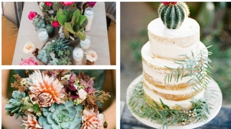Cactus Wedding Theme Mood Board