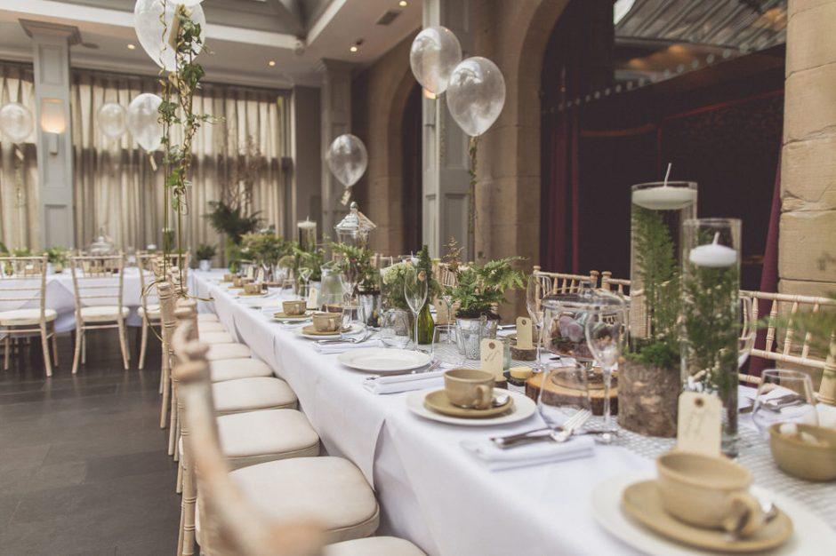Ballon wedding decor