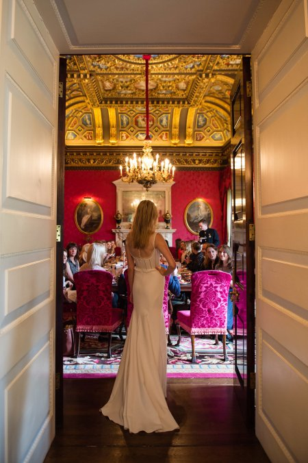 Ways for a bride to make an entrance