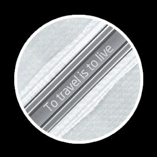 Samsonite engraving individual