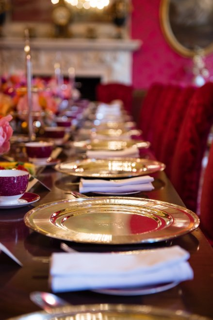 Plates and Cutlery at The Ritz London