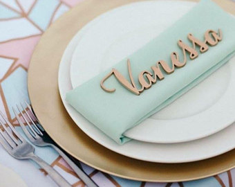 Candy place setting