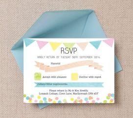 Candy rsvp invite