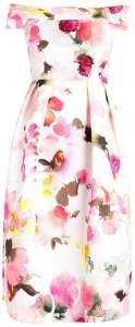 Closet Summer Dress Multi Color