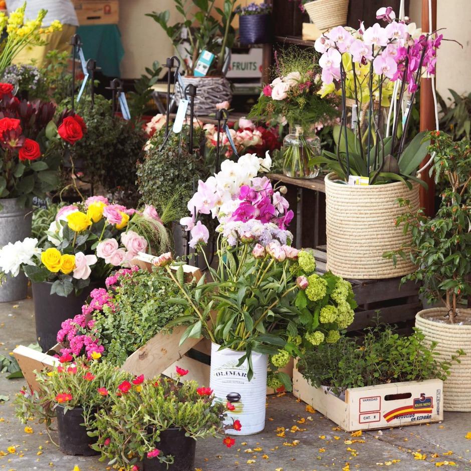 Ibiza Town Flower Market