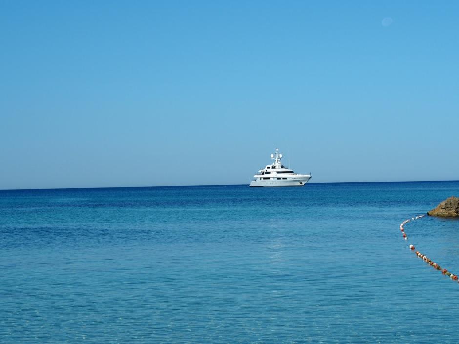 Boat in Ibiza 2017