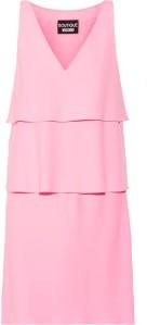 Moschino Stretch Crepe Midi Dress