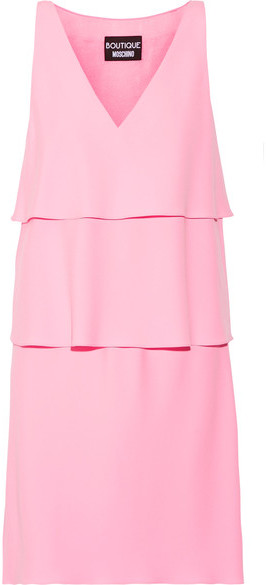 Moschino Stretch Crepe Midi Dress