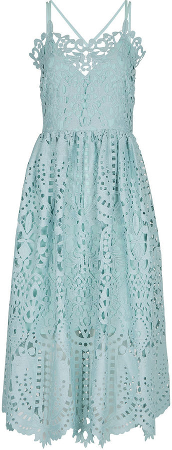 Perserverance London Mint Cami Dress
