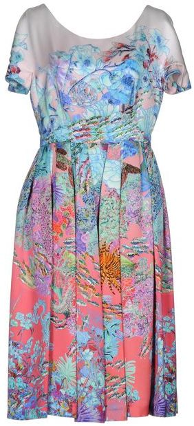 MARY KATRANTZOU KNEE-LENGTH DRESS